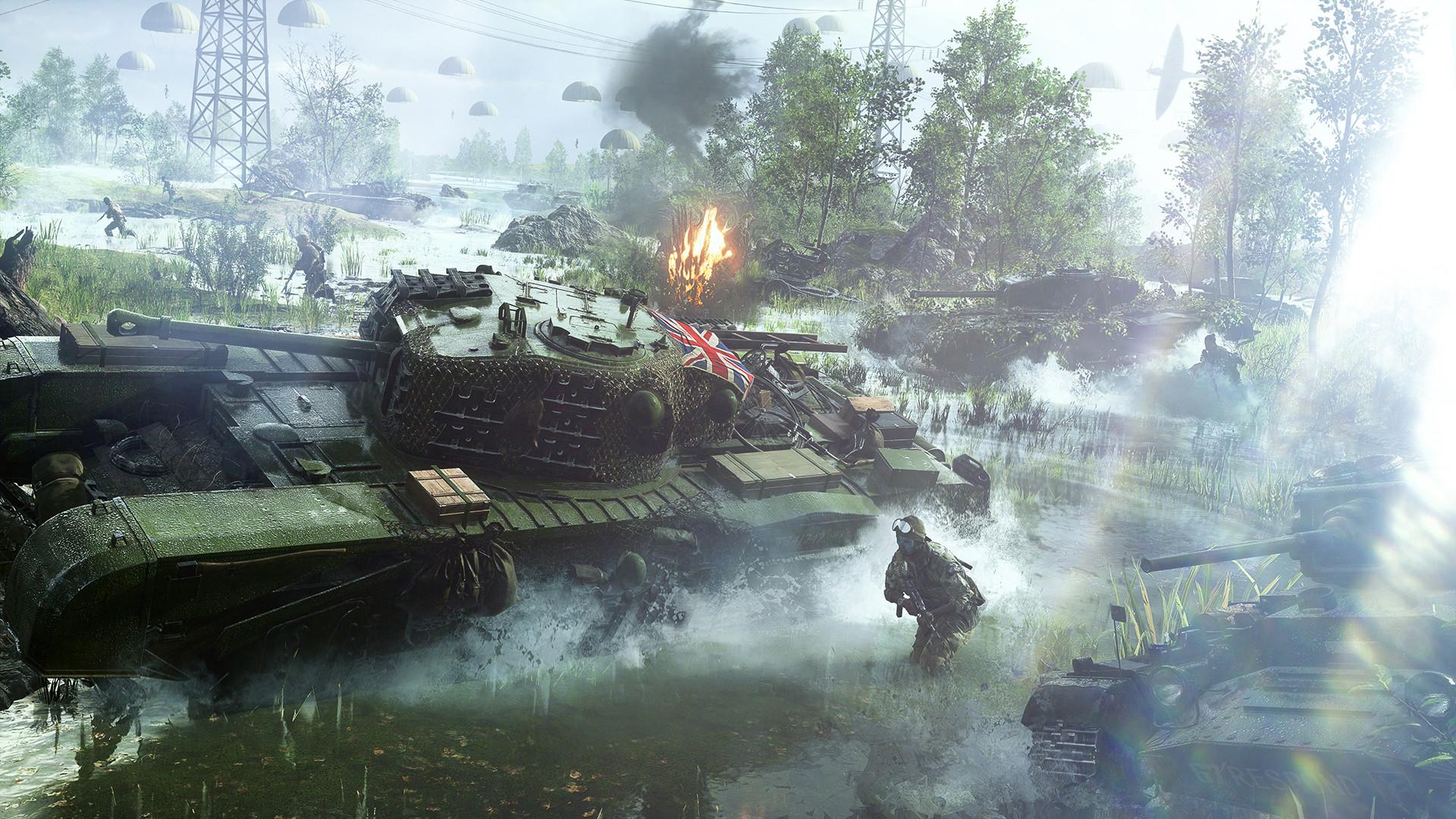 《战地5》Steam开启免费试玩 终极版降价90% 只需22元